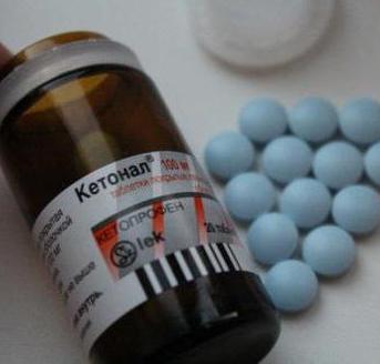 ketonal pastile 100 mg